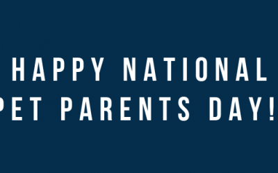 Happy National Pet Parents Day!